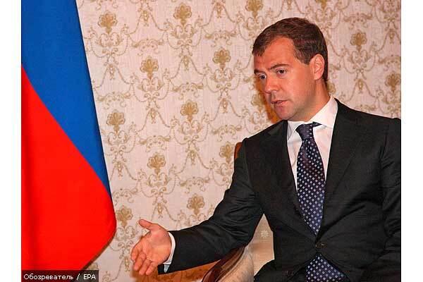 Медведев «остудил» решение Ющенко по ЧФ РФ