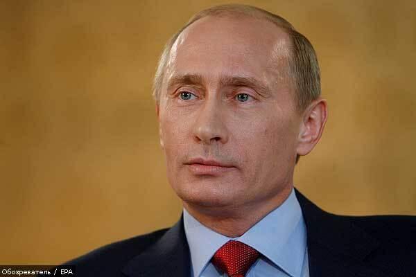 Путин открестился от грузинской войны