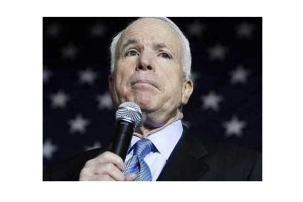 Маккейн назвал своего вице-президента