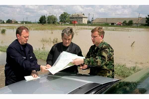 Ющенко назвал виновных в наводнении