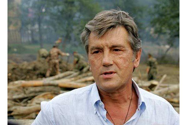 Президент требует за месяц разобраться с лесами Прикарпатья