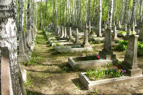 Вандал разгромил 55 памятников на кладбище