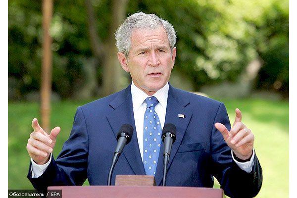 На Буша готовили покушение