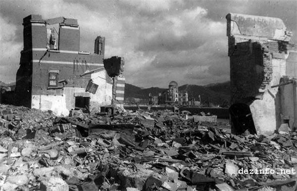 Хіросіма. Шокуючі невідомі кадри 63 роки по тому