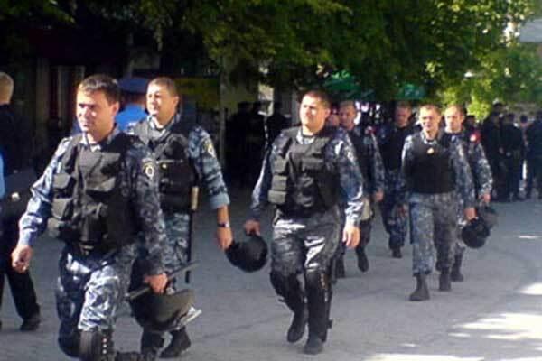 """""""Беркут"""" подрался с торговцами из Ривне"""