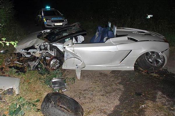Очередная авария мажора! В этот раз на Lamborghini!