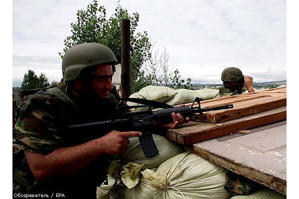 Росія вступила у війну з Грузією