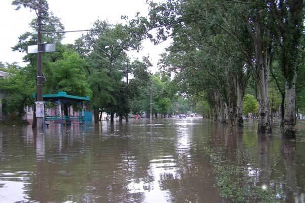 Вода в Одесской области спадет не скоро
