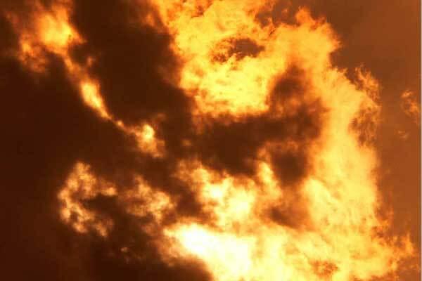 В Днепропетровске сгорел троллейбус