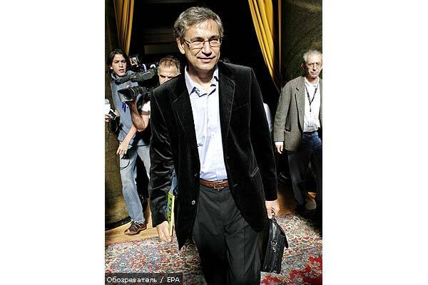 Орхан Памук випустив новий роман