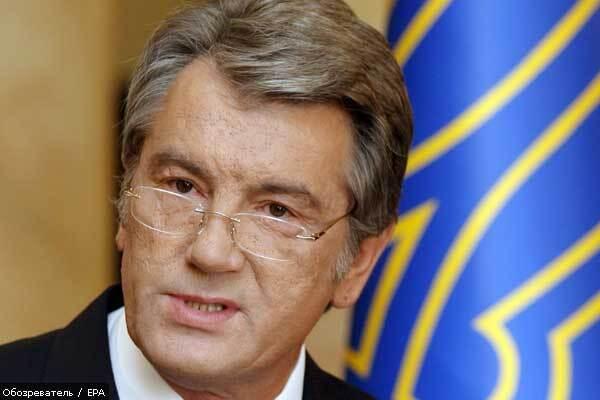 Ющенко знову згадав про борг перед Росією