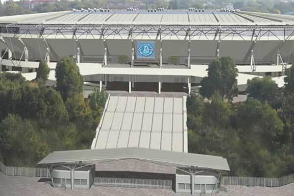 Перший стадіон до Євро-2012 вразив Ющенко своєю красою