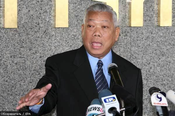 ЦВК Таїланду вимагає розпуску правлячої партії