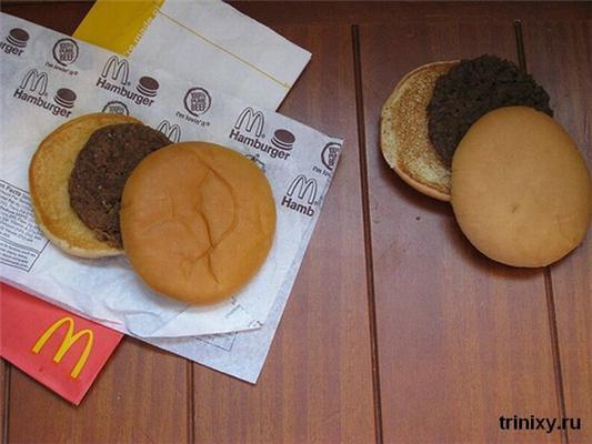 Не надо такое есть! 12-летний гамбургер...