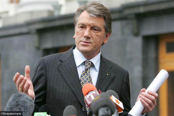 Ющенко пообіцяв не сваритися з Росією