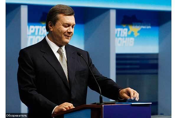 """Янукович:"""" Я приречений балотуватися в президенти"""""""