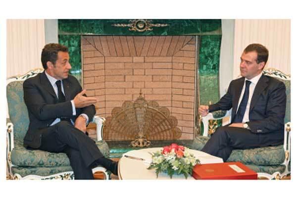 Медведєв запропонує Саркозі новий план
