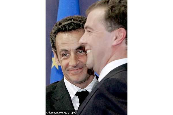 """Саакашвілі підписав план """"Медведєва-Саркозі"""""""