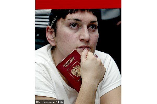 Російський паспорт як бацила