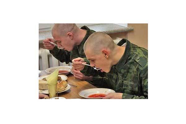З 1 листопада армія залишається без їжі