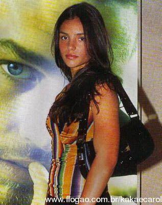 Главная девушка супербразильца (фото)