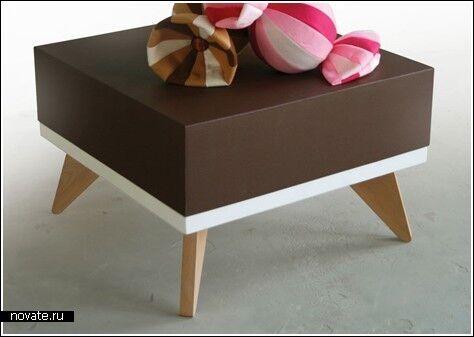 «Вкусная» мебель для любителей сладенького