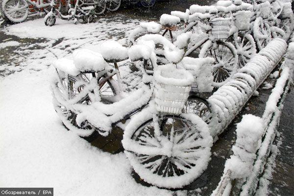 У Китаї від снігопадів загинули 38 людей