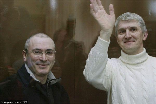 Суд продовжив арешт Ходорковського і Лебедєва
