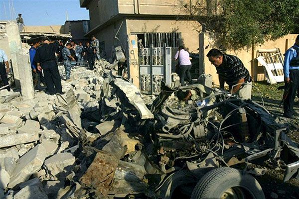 Смертник підірвав автомобіль в центрі іракського міста