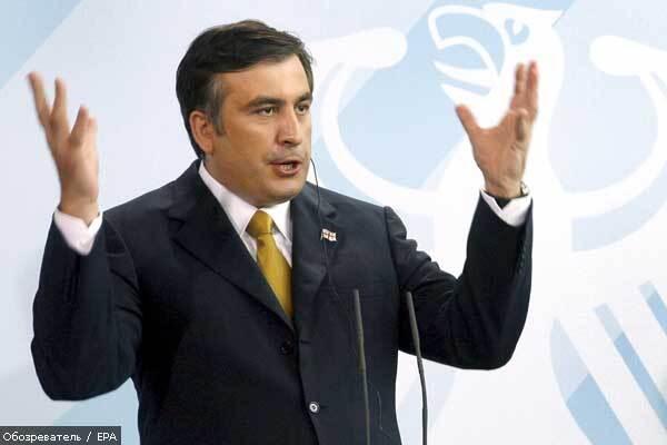 В Україну приїжджає президент Грузії