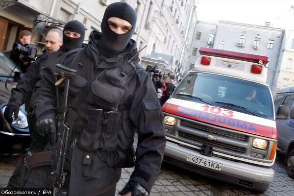 Херсонські священики захопили венерологічну клініку