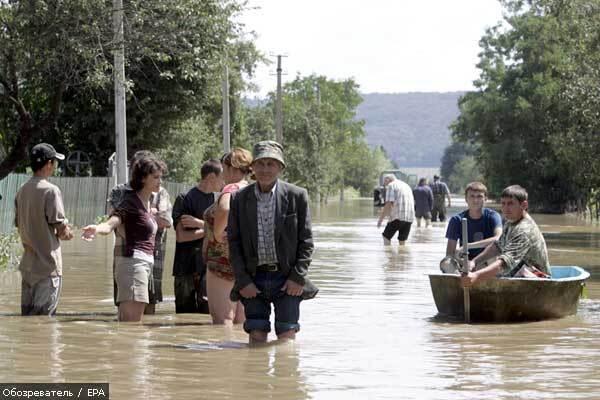 Бельгію і Францію залили дощі