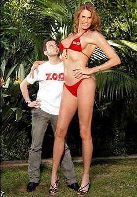 Самая знаменитая в мире модель-баскетболистка (фото, видео)