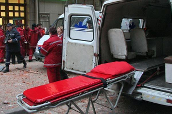 При вибуху в школі постраждали вісім робочих