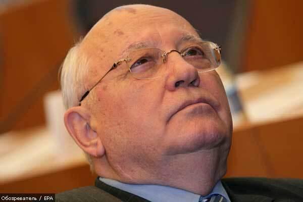 Обаму послали на историческую лекцию к Горбачеву