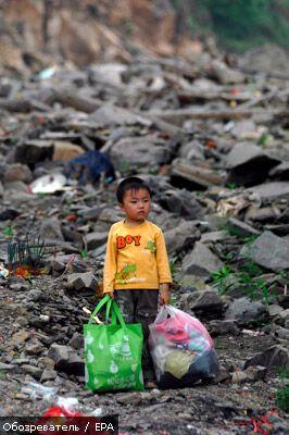 На заході Китаю стався потужний землетрус