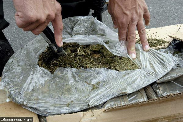 Дві тонни марихуани знайшли у вантажівці з солодощами