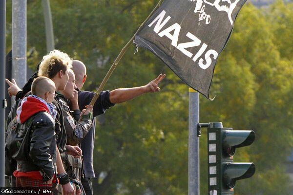 """Неонацисти відзначили"""" Кришталеву ніч"""""""