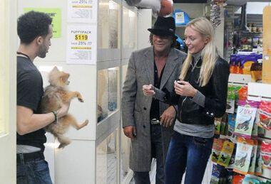Микки Рурк купил щенка невесте Билана