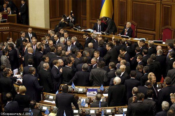 Переселенцы из Польши готовы ворваться в парламент Украины