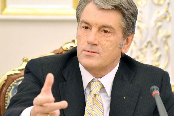 Ющенко запретил возмещать моральный ущерб