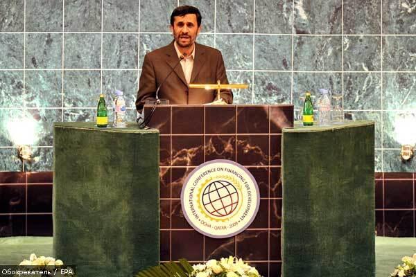 Ахмадинежад: никто не сможет удалить Иран с мировой арены