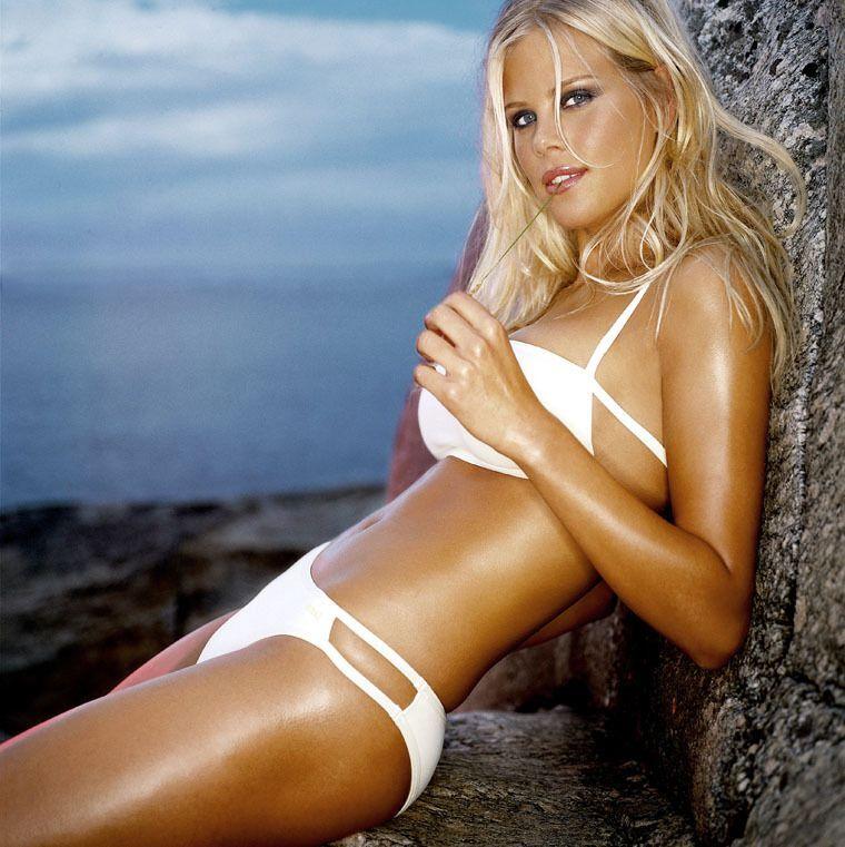 Swedish model anna nystrom rocks sexy schoolgirl vibe in tiny plaid miniskirt