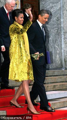 Calvin Klein одел первую леди США. ФОТО