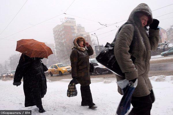 Украину заметет и заморозит!