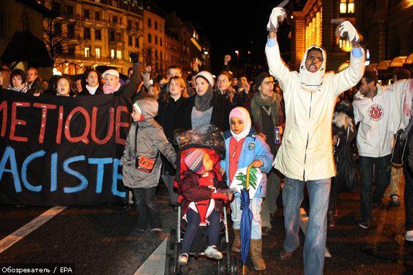 Мусульмане начинают бойкот Швейцарии?