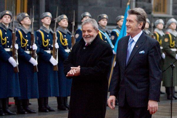 Украина-Бразилия: как закалялась дружба
