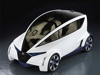 Трехместное будущее Honda