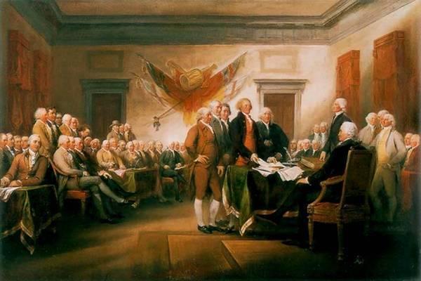 Декларацию независимости США выставили на аукцион