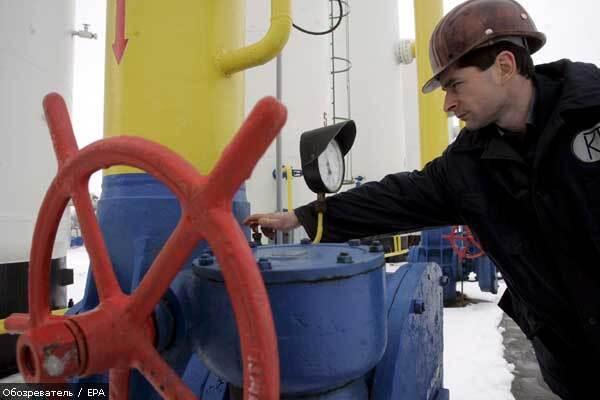 Україна імпортує 33 млрд куб. газу за рік